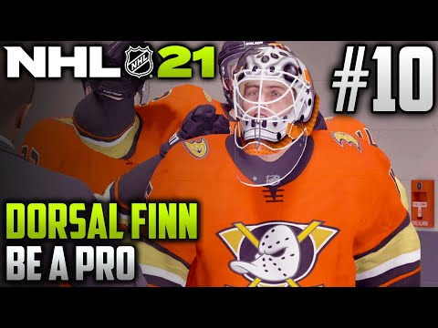 NHL 21 Be a Pro | Dorsal Finn (Goalie) | EP10 | WRAPPING UP OUR ROOKIE SEASON
