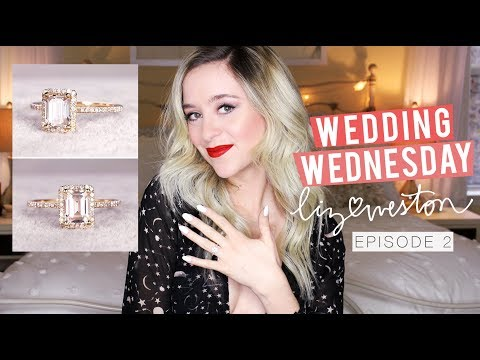 ALL ABOUT MY ENGAGEMENT RING!! | Wedding Wednesday - Episode 2 | MeganandLiz