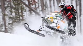 3. 2013 Ski-Doo Freeride Snowmobile Review