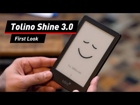Tolino Shine: eBook-Reader in der dritten Generation