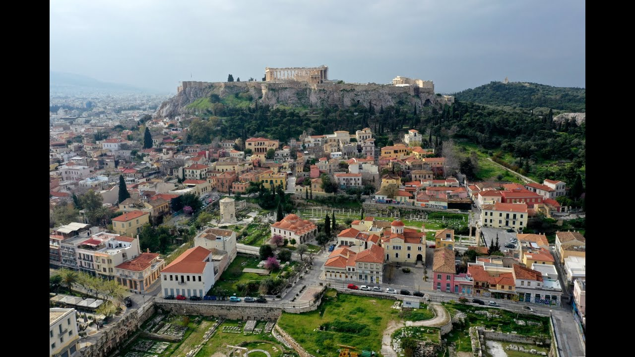 Αθήνα – COVID-19: Συγκλονιστικές εικόνες από drone