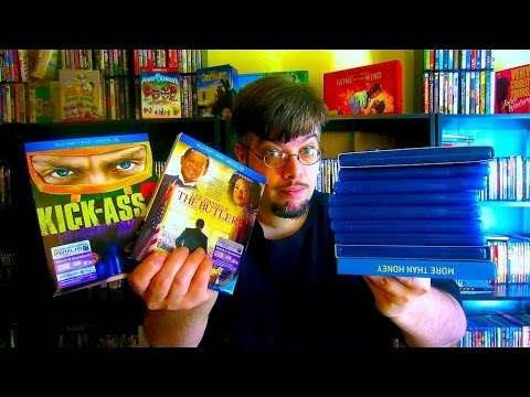 My Blu Ray Collection Update 12/20/13 Blu ray and Dvd Movie Reviews