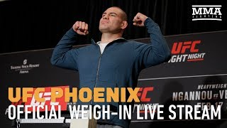 Video UFC Phoenix Official Weigh-ins - MMA Fighting MP3, 3GP, MP4, WEBM, AVI, FLV Februari 2019