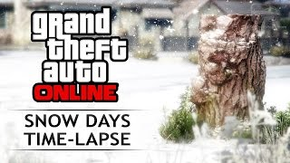 GTA 5 - Snow Days Time-Lapse