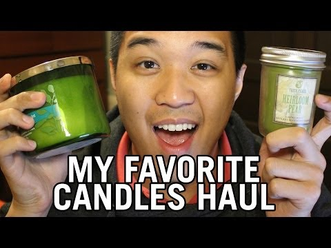My Favorite Bath & Body Works Candle Haul!