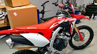 5. All-New 2019 Honda CRF450L!! • 1st Ride & Impressions! | BikeReviews