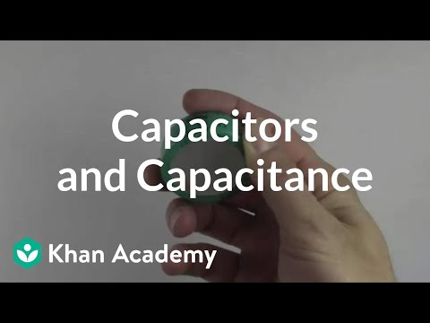 Capacitors - A basic overview of capacitors and capacitance. By David Santo Pietro. More free lessons at: http://www.khanacademy.org/video?v=u-jigaMJT10.