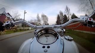 3. Yamaha Road Star 1700 acceleration GoPro 2 Hero HD