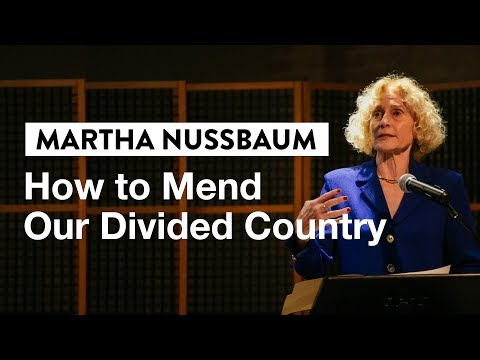 How a Philosopher Looks at Our Political Crisis with Martha Nussbaum | IVY Digital Event