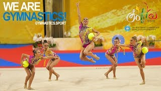 2018 Rhythmic Worlds – Group Finals, Highlights – We are Gymnastics !