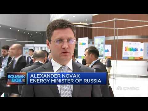 Александр Новак в интервью телеканалу CNBC