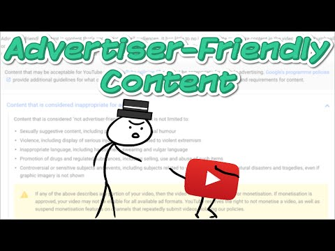 Advertiser-Friendly Content on YouTube