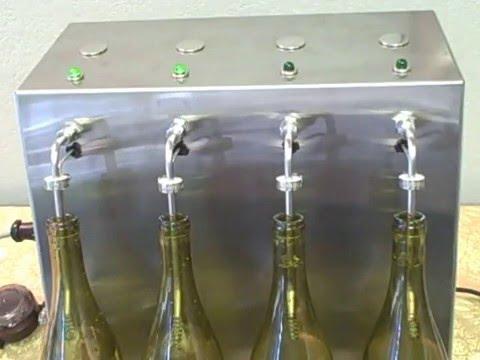 Level Fill Wine Bottle Filler