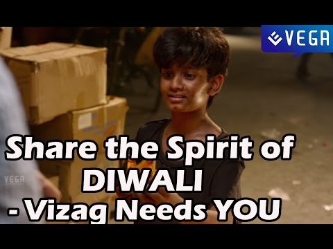 Share the Spirit of DIWALI - Vizag Needs YOU