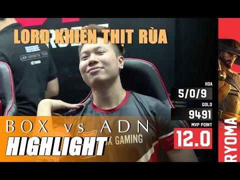 Highlight BOX vs ADN - QUY LÃO RỤT ĐẦU TRƯỚC KHIÊN - ĐTDV mùa xuân 2019 - Thời lượng: 12 phút.