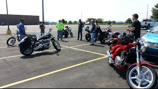 Greensburg (PA) United States  city pictures gallery : Idiot Collective USA, East Coast (Motorcycle Ride Out) August 16, 2015 Greensburg PA (Part 3)