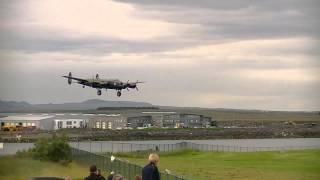 Lancaster  Landing In Reykjavik Iceland