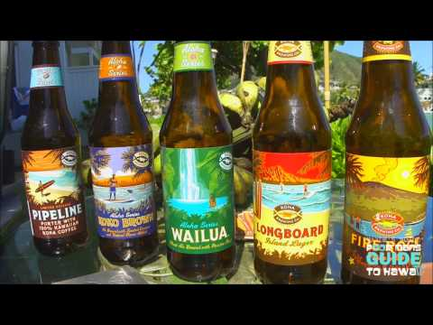 "KONA BREWING COMPANY HD ""Waydes World Hawaii"""