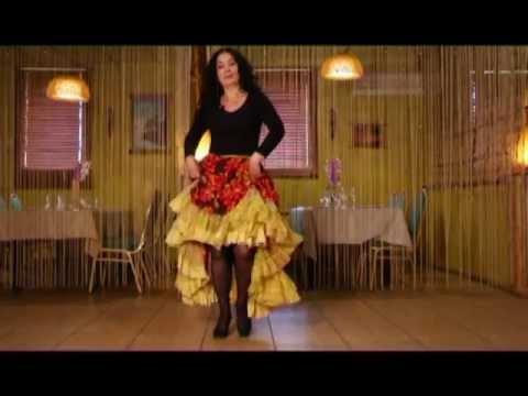 Цыганский танец: техника проходки. Видео обучение Венеры Фераль.