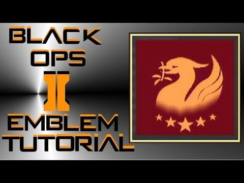 Call Of Duty Black Ops 2 : Liver Bird Liverpool Badge Emblem Tutorial