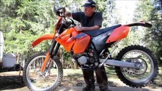 8. 2006 KTM 200XC SUSPENSION SETUP