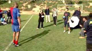 Kobe Bryant Plays Soccer