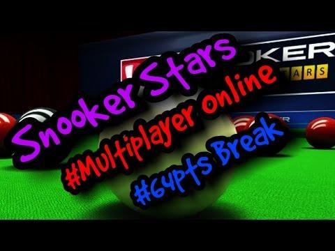 Snooker Break Of #64 points Online Multiplayer