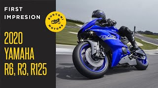2. 2020 Yamaha YZF-R6, YZF-R3 and YZF-R125 Supersport Models Revealed!