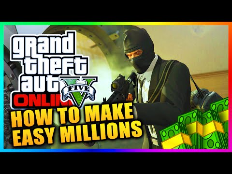 GTA 5 Heists DLC – Make EASY Money In GTA Online With Daily Objectives – Earn Millions Fast! (GTA V)
