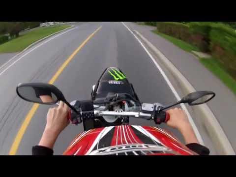 yamaha bws-r 80cc wheelie style