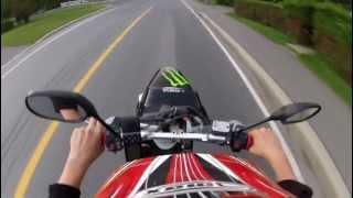 7. yamaha bws-r 80cc wheelie style