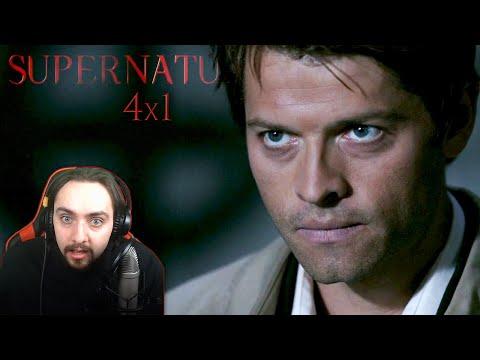 """Supernatural Season 4 Episode 1 REACTION """"Lazarus Rising"""""""