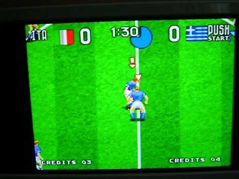 tecmo world soccer 98 neo geo