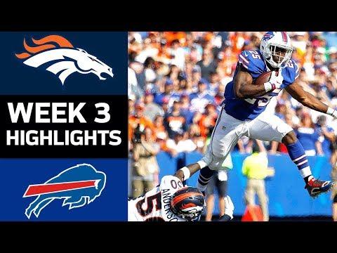 Video: Broncos vs. Bills | NFL Week 3 Game Highlights