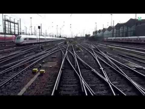 DB Bahn – Von Frankfurt Hbf nach Bingen Hbf – Führerstandsmitfahrt Nr. 43 – Stwg