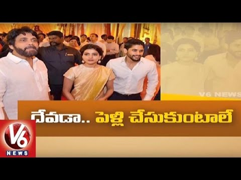 Naga Chaitanya Confirms He Will Get Married Next Year | Tollywood Gossips | V6 News