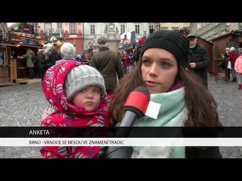 TV Brno 1: 19.12.2017 Vánoce se nesou ve znamení tradic