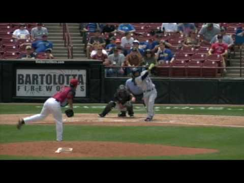 5/23 Highlights Wisconsin Timber Rattlers vs. Kane County Cougars.
