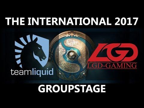 Team Liquid vs LGD, The International 2017, LGD vs Team Liquid