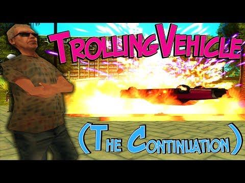 Обзор CLEO #85. TrollingVehicle (The Continuation). Слапер/Кикер! Беспалевно сломать сервер ЛЕГКО! (видео)