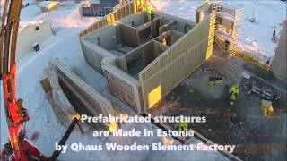 Kautokeino Norway  city pictures gallery : Qhaus Projects - early assembly stage of Kautokeino Home Care Centre, Norway