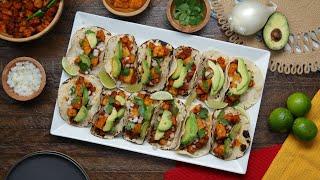 Vegan Butternut Squash Al Pastor Tacos •Tasty by Tasty