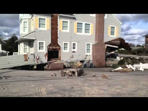 Hurricane Sandy Hits Mantoloking, New Jersey