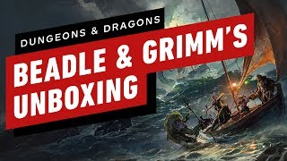 D&D's Ghost of Saltmarsh: Sinister Silver Edition Unboxing (Beadle & Grimm's) by IGN