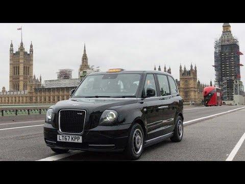 Londoner Taxis nur noch mit Elektromotor | Europama ...