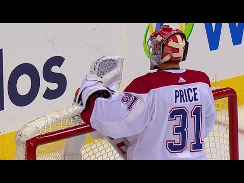 Video: Not Price's night, gives up three goals in three minutes against Capitals