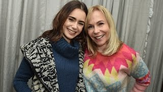 Lily Collins Shares Past Experience with Eating Disorder