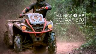 10. 2016 Can am : The all new 2016 Outlander L X mr