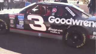 9. Dale Earnhardt's race car does not like the cold