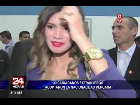 Migraciones: 39 ciudadanos extranjeros adoptaron la nacionalidad peruana